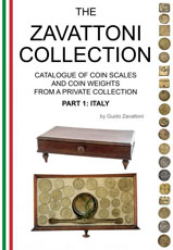 Guido Zavattoni - Catalogue of coin scales and                   coin weights - Italy