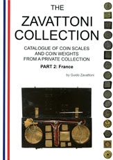 Guido Zavattoni, Catalogue of coin scales and                   coin weights - France